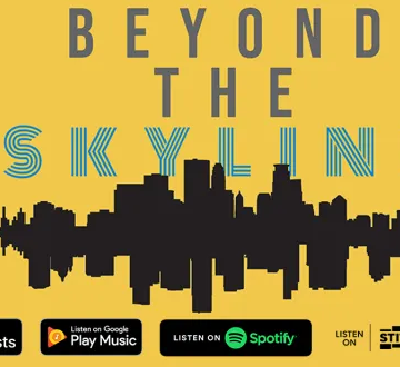 Beyond the Skyline podcast logo.