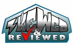 Skewed 'n Reviewed logo